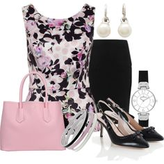 For Work #265 by annabouttown on Polyvore featuring My Choice and AK Anne Klein