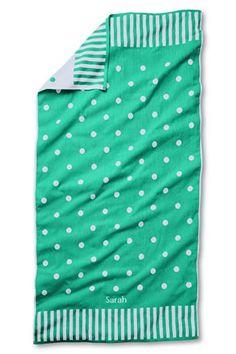 Adorable beach towel...