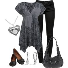 Simple Style, created by smores1165 on Polyvore