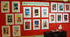Library Displays: Which came first - the movie or the book?