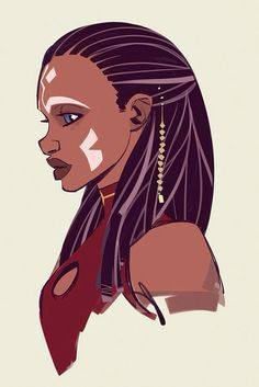 Ahsoka Tano as a human