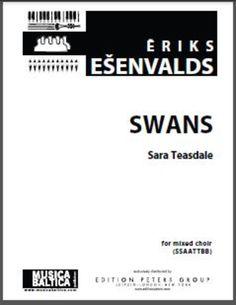 Swans (SSAATTBB a cappella)