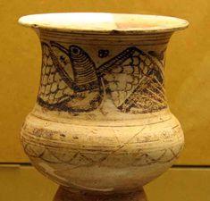 Cerámica de estilo Elche-Archena. S. II ane. Corral de Saus. Museo Arqueológico de Valencia