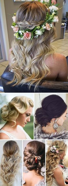 28 Trendy Wedding Hairstyle for Chic Brides