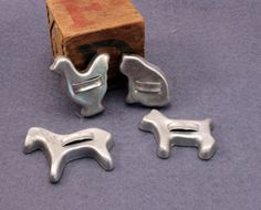 Toy Miniature Cookie Cutter Set for Play by MothersMiniTreasures