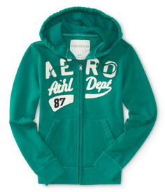 Aero Athletic Full-Zip Hoodie - Aeropostale