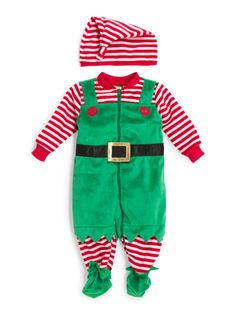 Elf outfit for baby Baby Elf Costume, Baby Costumes, Elf Clothes, Cute Baby Clothes, Babies Clothes, Babies First Christmas, Christmas Baby, Christmas Clothes, Christmas Outfits