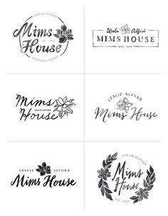 WIP: Southern Wedding Venue Identity — June Letters Studio