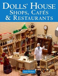 Dolls House Shops, Cafes and Restaurants Book ISBN 9781861084552 | Hobbies