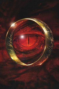 eye of sauron and the ring
