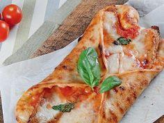 Pizza con parmigiana di melanzane