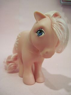 Cotton Candy My Little Pony. The one and only Pony I had and cherished! :)