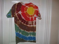 My very favorite tie-dye I've ever done.