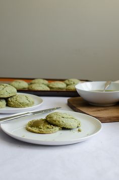 Green Tea Poppy Seed Scones with Green Tea Curd | Sprig and Flours-19