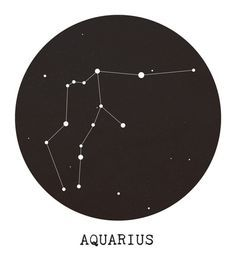 aquarius constellation graphic tattoos - Google Search