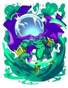 Chibi Mysterio 8.5x11