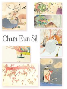 Chun Eun Sil, a Korean children's book illustrator