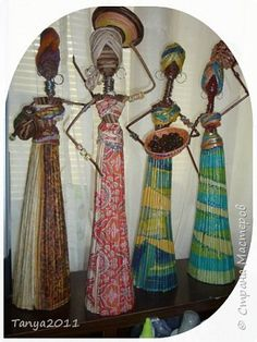 Estatuetas de tubos de jornais africanos (1) (360x480, 162KB)