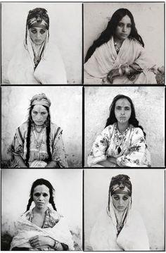 Marc Garanger, Algerian women, 1960  huiyan:    Marc Garanger, Femmes Algériennes,1960