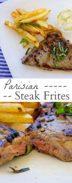 Steak Frites with Aioli — mon petit four