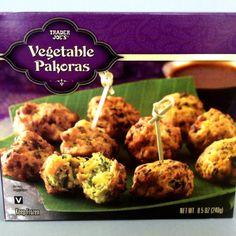 Trader Joe's vegan food review: Vegetable Pakoras. See more at http://pinterest.com/vegansaurus/vegan-trader-joe-s-/