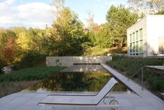 Reflecting Pool - modern - pool - chicago - Robert J. Neylan Architects, Ltd.