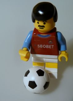 West Ham custom LEGO minifigure