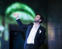 The first set of photos of David Tennant and his fellow cast members in Don Juan In Soho have been released. David stars as DJ in Patric...