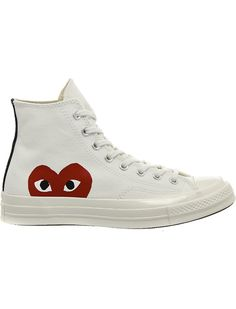 8c6ada34e17f COMME DES GARCONS Converse high-top 70s x play cdg trainers