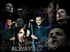 Chester Bennington  will be in my heart♥