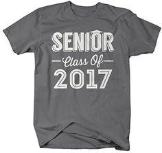 mens senior class of 2017 t shirt seniors shirt personalized cap