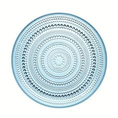 Kastehelmi Plate Medium Blue, $38.40, now featured on Fab.