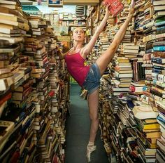 Pointe How ballerina bookworms find their next favorite read. (Johanna Sigurdardottir photo by Jordan Matter Photography) - my both passions :-) Dance Photos, Dance Pictures, Tumblr Ballet, Dance Hip Hop, Dance Aesthetic, Dancers Among Us, Dance Photography Poses, Dance Moms, Lets Dance