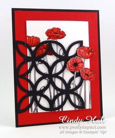 Pleasant Poppies by Cindy Hall - Cards and Paper Crafts at Splitcoaststampers
