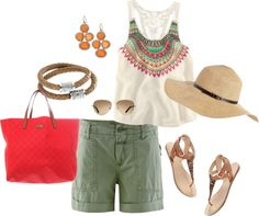 Great for the Beach, created by thepeacockprincess on Polyvore