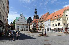Die mehr als tausendjährige Lutherstadt Eisleben in Sachsen-Anhalt ist der Geburts- und Sterbeort des großen Reformators (1483-1546).