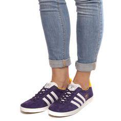 adidas originals gazelle og ladies fashion trainers