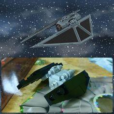 Día 19: Tie Striker #starwars #rogueone #tiestriker #Lego #instalego #legogram #afol #adventcalendar #calendarioadviento