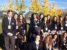 Visitan nuestros alumnos/as #bachillerato instalaciones #REPSOL en #Mostoles #Madrid @insititucionsek