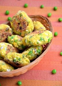 Kotlety z jajek i zielonego groszku 12+. Przepis wegetariański dla dziecka od roku wzwyż życia.