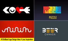 40 Most Brilliant Logo Design Ideas for your inspiration. Read full article: http://webneel.com/40-most-brilliant-logo-design-ideas-your-inspiration | more http://webneel.com/logo-design | Follow us www.pinterest.com/webneel
