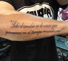 157 Mejores Imágenes De Frases Para Tatuajes Tattoo Quotes Tatoos