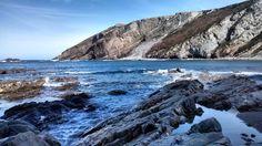 Interesting one by fotoalcuadrado #landscape #contratahotel (o) http://ift.tt/1YkkUa3 naturales...  #paisajes #sea #mar #beach #playa #cantabrico #cantabricsea #asturias #asturiasgrafias #asturiasgram #oviñana #farodevidio #cabovidio #peñadoria #reflejos #rocas #bluesky #blue #fotografosmadrid #fotoalcuadrado #picoftheday