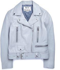 Acne Studios Mock Crop Leather Jacket