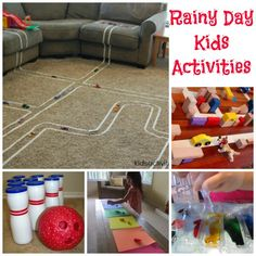 """AWESOME Round-Up of """"Rainy Day Kids Activities"""" 