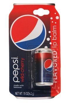 Soda flavored lip balm: all the yummy taste and none of those pesky calories.