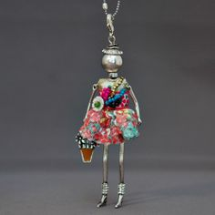 French doll necklace | Dandy FrouFrou