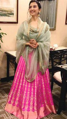 Wedding dresses casual simple beautiful Ideas for 2019 Party Wear Dresses, Casual Dresses, Wedding Dresses, Fashion Dresses, Indian Wedding Outfits, Indian Outfits, Simple Lehenga, Sharara Designs, Eastern Dresses
