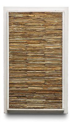 Jan Schoonhoven Relief, 1964 Cardboard and painted artist's frame