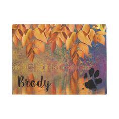 Dog Paw   Paw Print Door Mat